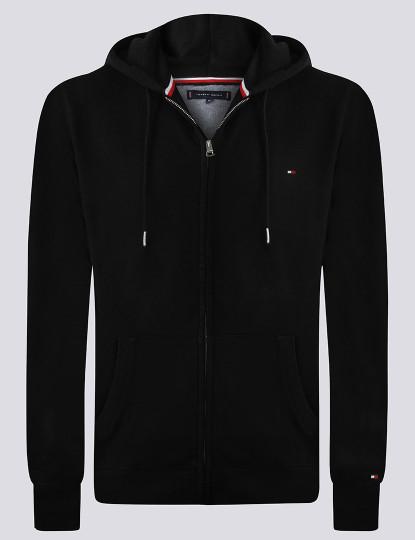 Sweatshirt Tommy Hilfiger Homem c/ fecho Zip Preto
