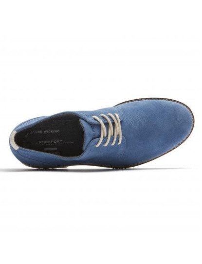 Sapatos Rockport Ledge Hill 2 Plain Toe Oxford Azuis