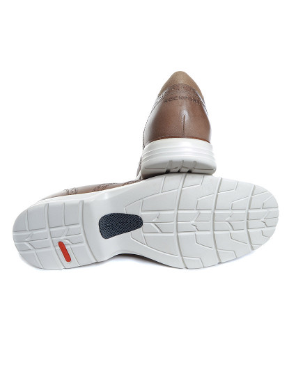 Sapatos Rockport Total Motion Fusion Tm Fusion Wing Tip Rocksand Le