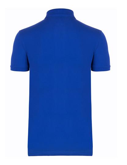Pólo M. Curta Tommy Hilfiger Homem Basic Azul