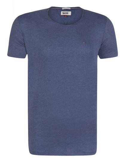 T-shirt Tommy Hilfiger Homem Azul Navy Mesclado