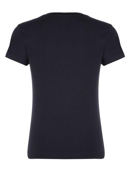 T-shirt Tommy Hilfiger Senhora Preto