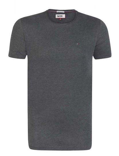 T-shirt Tommy Hilfiger Homem Antracite Mesclado