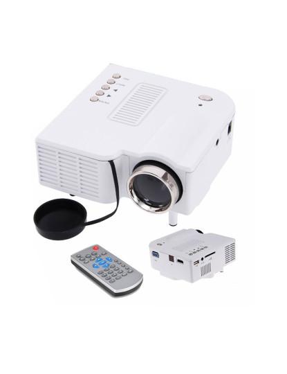 Mini Projector Low Cost c/ ligação HDMI e projecta até 80 polegadas!