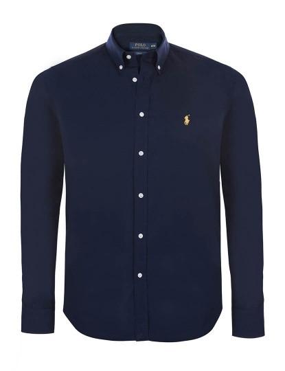 f1d9801134 Camisa Ralph Lauren Lisa Azul Navy Homem