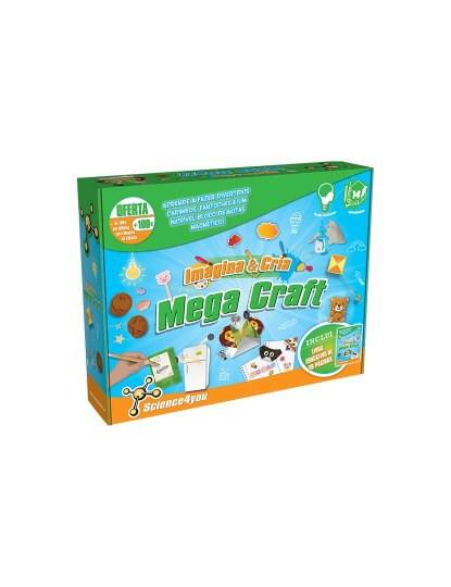 Kit Imagina e Cria Mega Craft