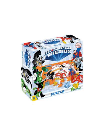 Puzzle DC Super Heroes 1 80 Pcs