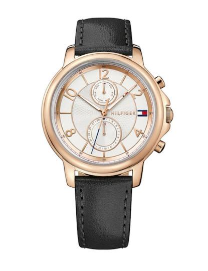 3f1a3e983df Relógio Tommy Hilfiger Senhora Claudia Preto