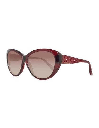 Óculos de Sol de Senhora Swarovski Castanho e Vermelho
