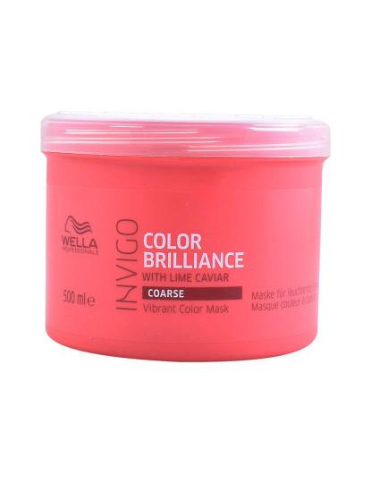Wella Máscara Cabelos Grossos Invigo Color Brilliance 500Ml
