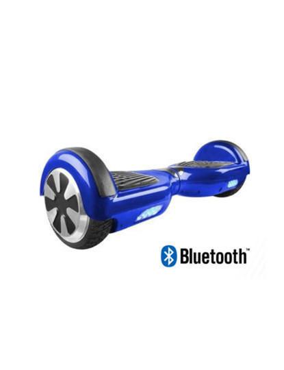 Hoverboard com Bluetooth Áudio e Colunas Integradas Azul - Artigo de Exposição