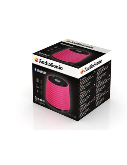 Coluna Bluetooth Rosa