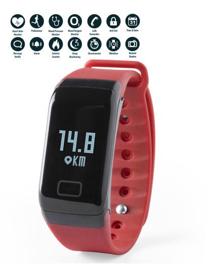 Pulseira Inteligente look like Fitbit Vermelho