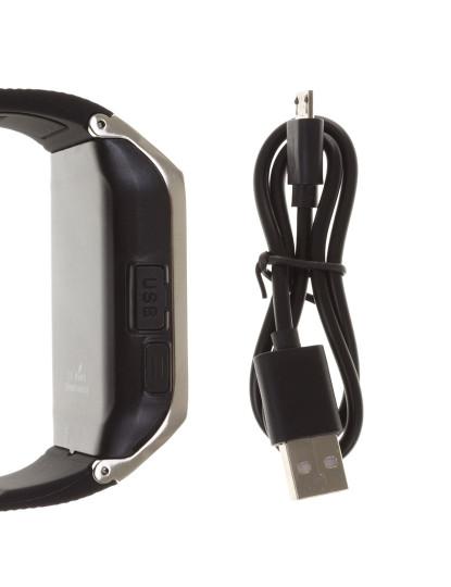 Smartwatch Gv 18 Com Bluetooth Preto/Prateado