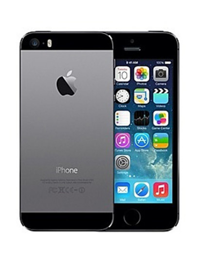 Apple iPhone 5S 16 GB Silver Grau A+