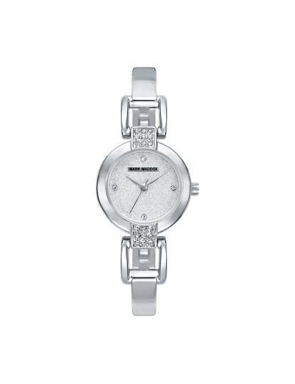 dc6ec8b4d31 Relógio Mark Maddox Caixa Em Aço Com Pedras Senhora