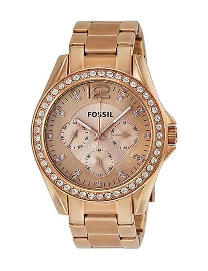 cdc3e1efa92 Relógio Senhora Fossil Riley Rosa