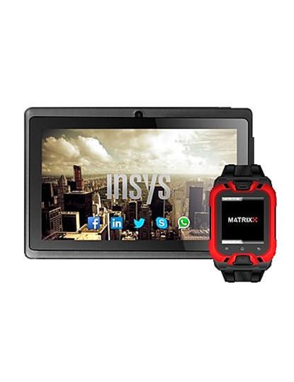 Tablet Matrixx 7'' + Oferta Smartwatch Telemóvel Matrixx