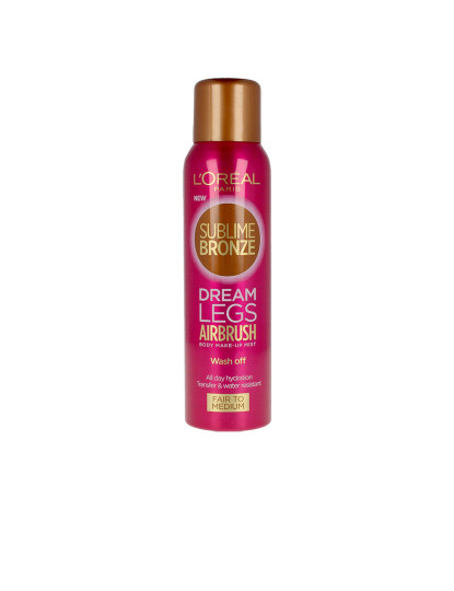 L`Oréal Sublime Bronze Dream Legs Airbrush Fair To Medium 150 Ml