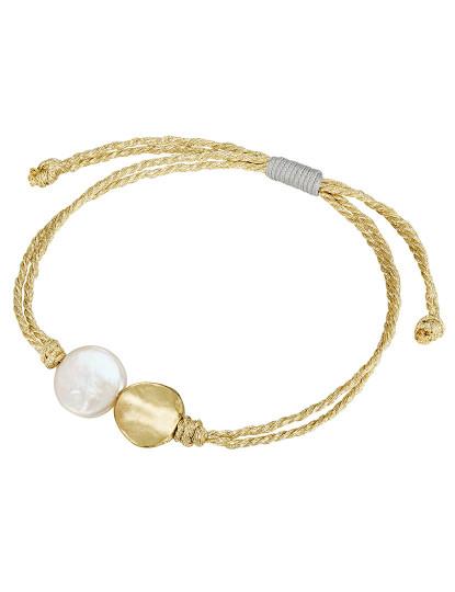 Pulseira Pearls of London Dourado