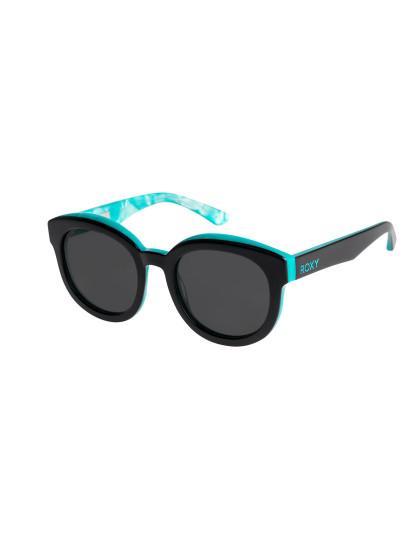 Óculos de Sol Redondos Roxy Amazon Preto brilhante menta e Gr, até ... b39b068779