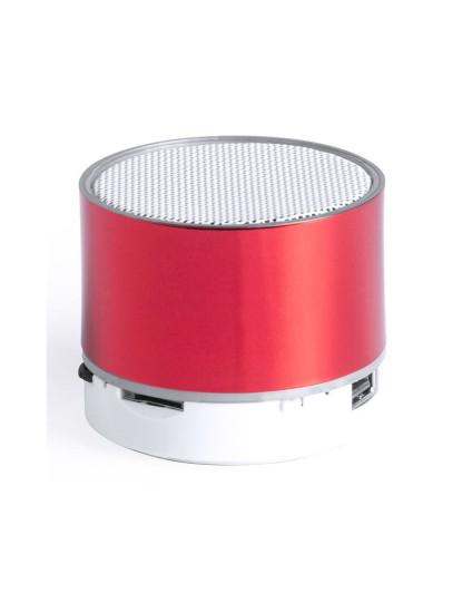 Coluna Bluetooth + LED Fucsia