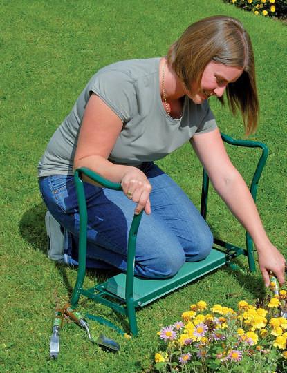 Banco dobrável e portátil multi-usos | Perfeito para trabalho em jardinagem e muito mais. Envio Imediato!