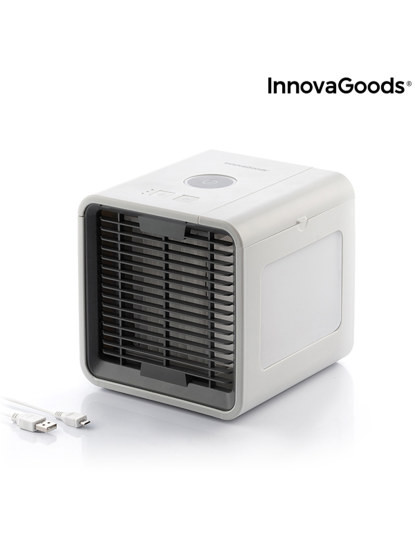 Climatizador Portátil LED Freezy Cube by InnovaGoods®