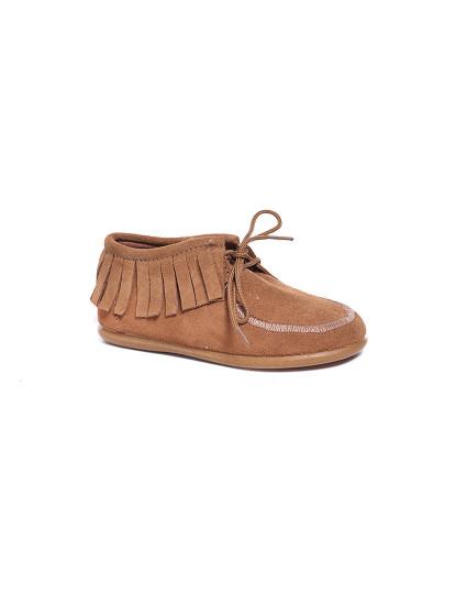 e57135006 Sapatos Franjas Senhora Camel, até 2019-05-29