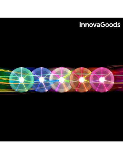 Frisbee Disco Innovagoods Com Luz Led Colorida