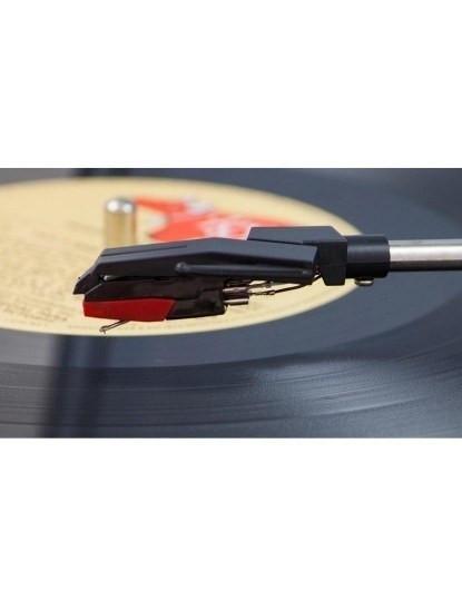 Gira-Discos 2 em 1 Conversor Vinil e cassete