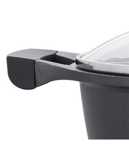 Tacho Ø24cm com Qualidade Light Cast Aluminum Alloy & Durable Outer Body