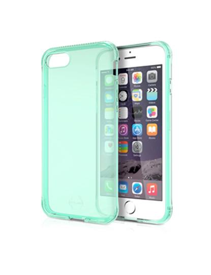 Capa iTSkins p/  Apple iPhone 8 / 7 - Verde Transparente