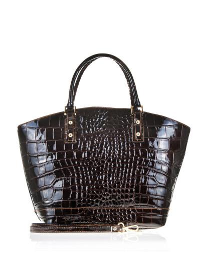 Compre Marca De Design Padrão De Pele De Crocodilo Mulheres