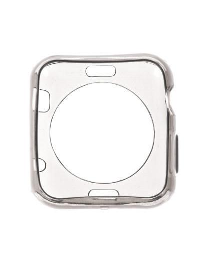 Capa de silicone para Apple Watch 42mm Cinza
