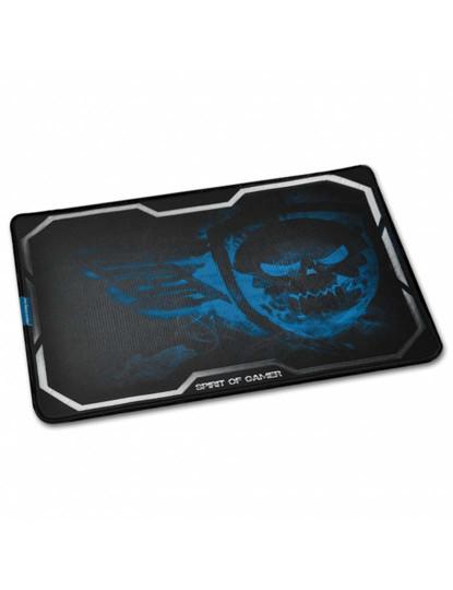 Tapete De Rato Smokey Skull Grande Azul