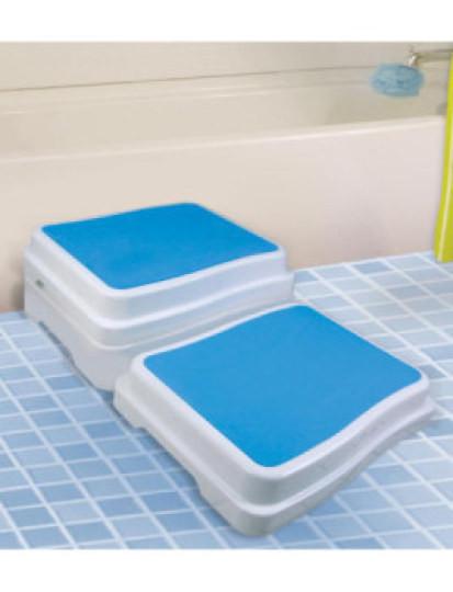 Degrau Anti-Queda de WC! Peso pluma com fácil portabilidade e possiblidade de empilhar. Envio Imediato!