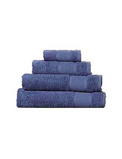 Conjunto 4 Toalhas Turcas Favo Azul Azulejo