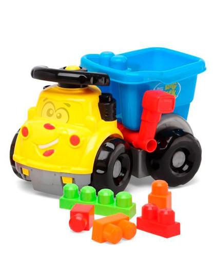 Brinquedo Camião basculante com blocos