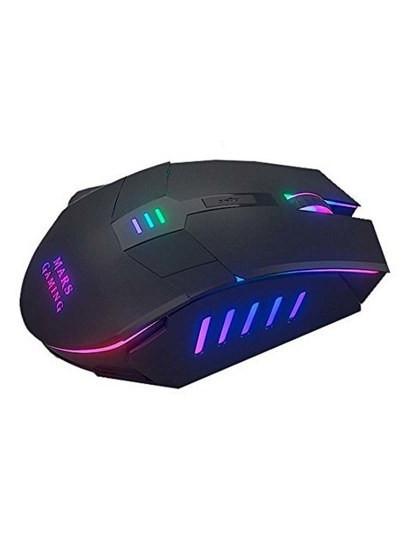 Rato Gaming Preto