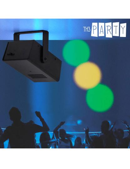 Projetor Led Portátil Dj Disco Th3 Party (7 Led)