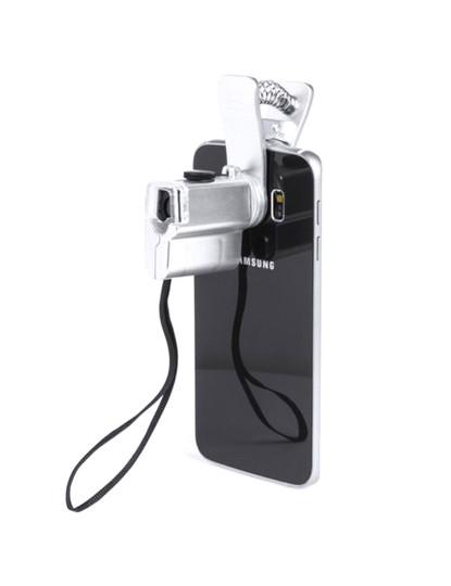 Microscópio 60x para telemóvel + LED com pilhas incluidas