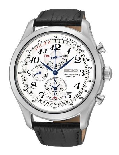 a3b3e7bafe7 Relógio Seiko Quartz Casual Lifestyle Preto E Branco
