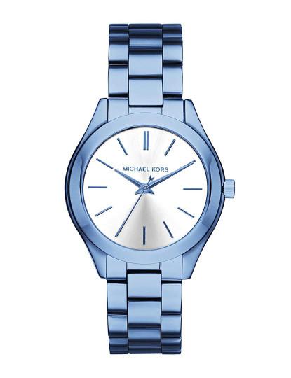 Relógio Michael Kors Mini Slim Runway Azul