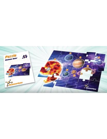 Puzzle 2D Sistema Solar 24 Pcs