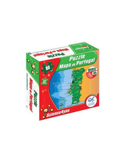 Puzzle Mapa Portugal PT
