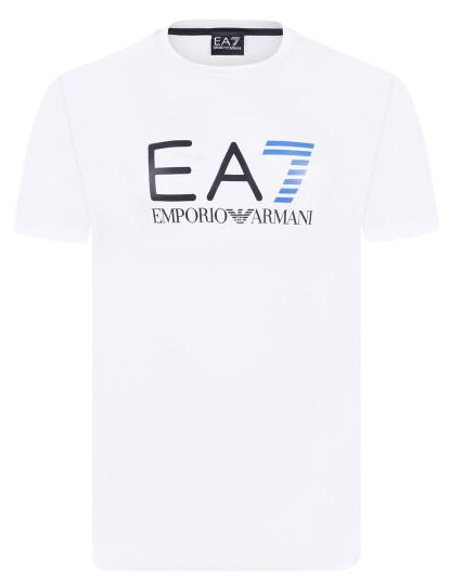 1b9e7d5a4 T-Shirt Emporio Armani Branca, Azul E Preta Homem, até 2019-05-01