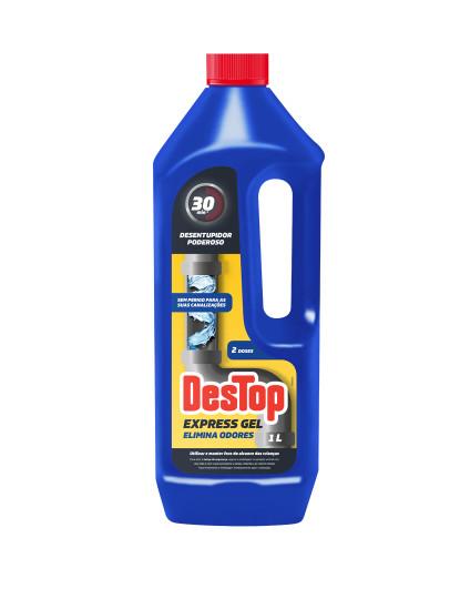 Desentupidor De Canos Gel Elimina Odores Destop 1L