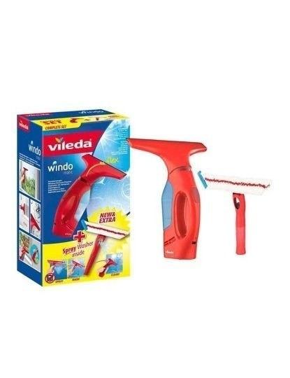 Windomatic Set Aspirador De Vidros E Janelas + Mopa Spray De Microfibras