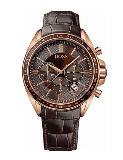 661c0d7fa84 Relógio Hugo Boss Dourado Rosa e Castanho